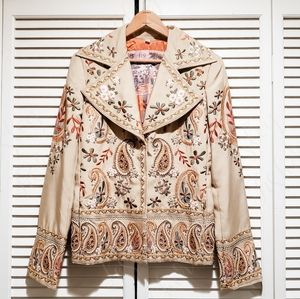 🔥Biya by Johnny Was🔥 Embroidered Jacket